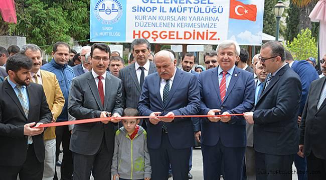 Sinop İl Müftülüğü Geleneksel Kermesi Açıldı