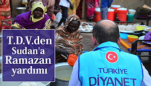 Türkiye Diyanet Vakfından Sudan'a Ramazan yardımı
