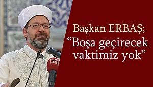 ERBAŞ;Ankara'da din görevlileriyle bir araya geldi