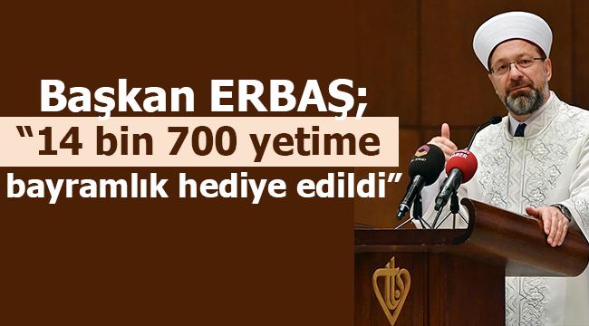 """ERBAŞ;""""Arakanlı 5 bin aileye iftar verildi"""""""