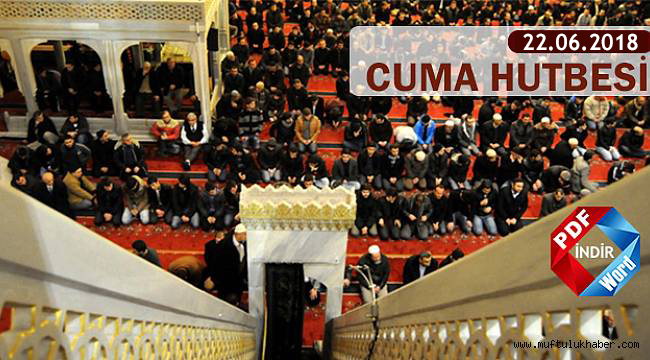 Haftanın Hutbesi;Yaz Kur'an Kursları ve Önemi