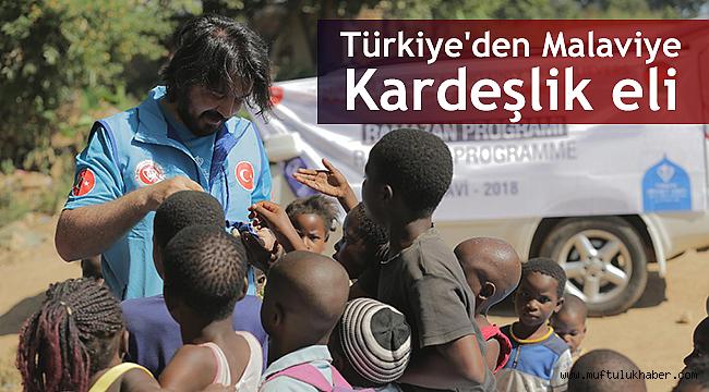 Türkiye'den Malaviye kardeşlik eli