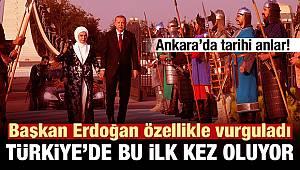 Ankara'da tarihi anlar