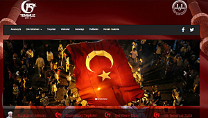 Diyanetten 15 Temmuza Özel Web Site