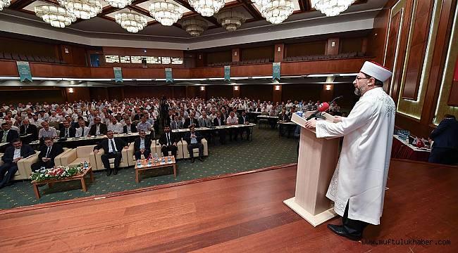 Kafile Başkanları Toplantısı Kızılcahamam'da yapıldı.