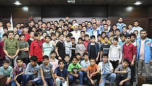 Yaz kampı öğrencilerinden Diyanet'e ziyaret