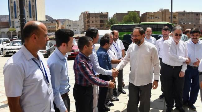 Diyanet İşleri Başkanı Erbaş, Medine'de