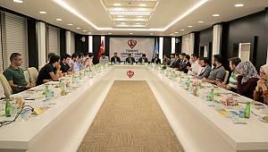Gençlik STK'larından Türkiye Diyanet Vakfına ziyaret