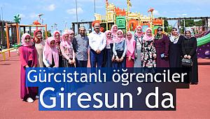 Giresun da Gürcistanlı öğrenciler dini öğreniyor