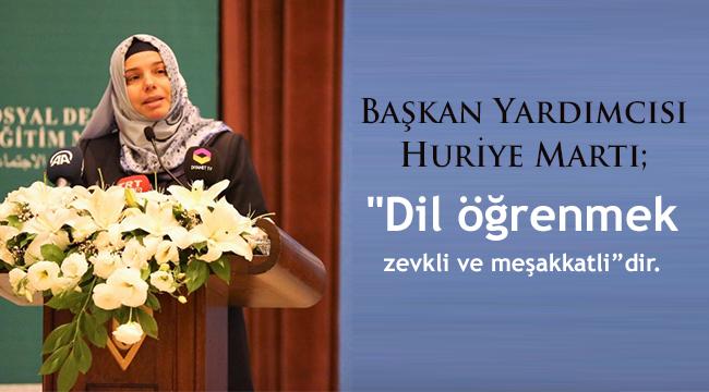İleri Düzey Türkçe Dil Eğitim Programı'nda mutlu sona gelindi.
