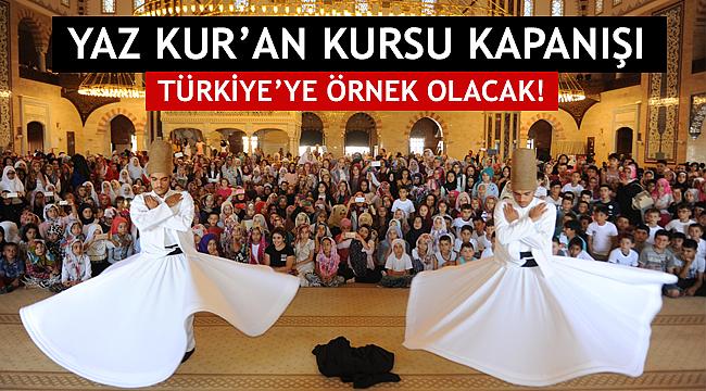K.Maraş da Türkiye ye Örnek Olacak Kapanış