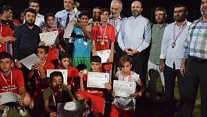 Şanlıurfa'da Futbol Turnuvasında Ter Döktüler