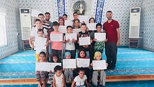 Şarköy'de Yaz Kur'an Kursları Sona Erdi