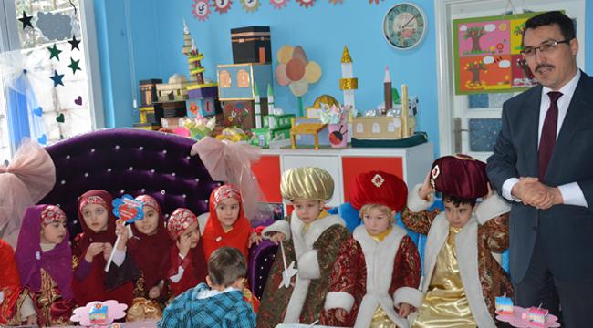 Sinop da 4-6 Yaş Kur'an Kurslarına yenilerini ekledi