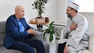 Başkan ERBAŞ dan 15Temmuz Gazisine Ziyaret