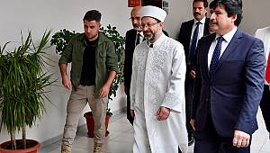Diyanet İşleri Başkanı Erbaş, Bitlis'te
