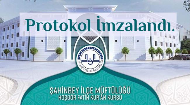 Eğitim Kampüsü inşaatı yapım protokolü imzalandı.