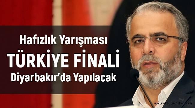 Hafızlık yarışması Türkiye finali Diyarbakır'da yapılacak