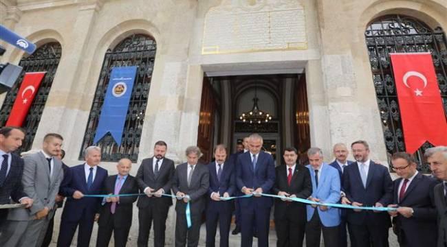 Restorasyonu Tamamlanan Cihangir Camisi ibadete açıldı
