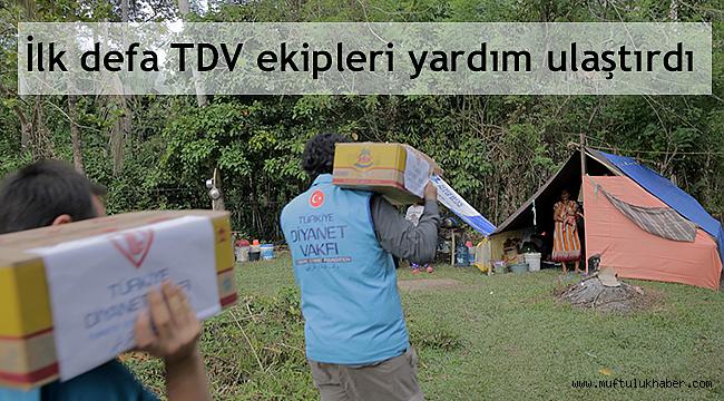 Türkiye Diyanet Vakfından Endonezya'ya insani yardım