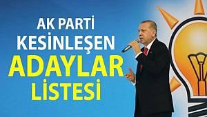 Ak Parti 40 ildeki belediye başkan adayını açıkladı.