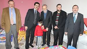 Çocuklara yönelik Kur'an kursu ve kreş açıldı