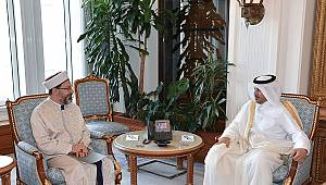 Diyanet İşleri Başkanı Erbaş, Katar'da