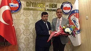 K.Maraş Diyanet-Sen'de Devir Teslim Yapıldı