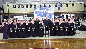 Kütahya'da 41 kız öğrenci için icazet töreni düzenlendi.