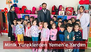 Minik yüreklerden Yemen'e Yardım