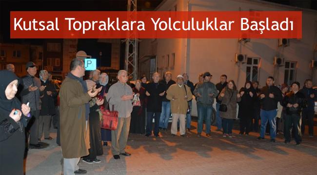 Sinop'da Kutsal Topraklara Yolculuklar Başladı