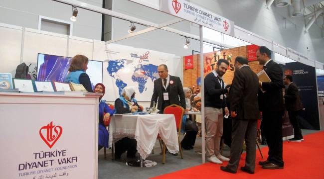 Türkiye Diyanet Vakfı uluslararası STK fuarına katıldı