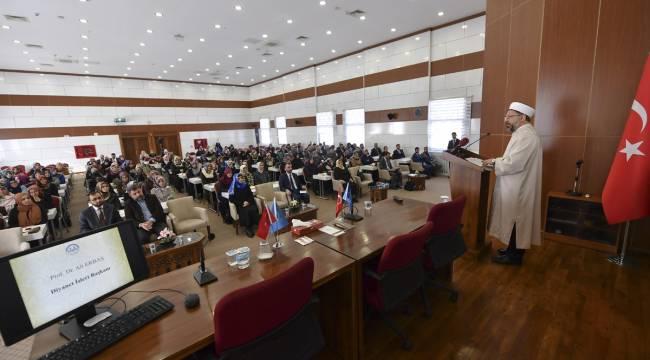 Ankarada Aile ve Dini Rehberlik Büro Koordinatörleri Çalıştayı