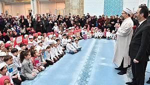 ERBAŞ,4-6 yaş Kur'an Kursu Öğrencileri ile buluştu.