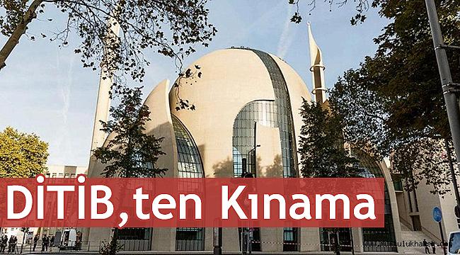 DİTİB, ten Bild gazetesinei kınama