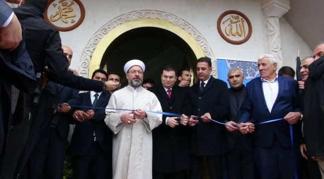 Erbaş Nusaybin'de cami açılışı yaptı