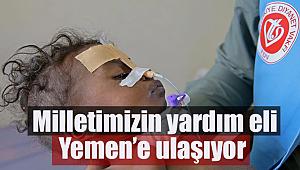 Yemen'in yardım çığlığına (TDV) sessiz kalmıyor.