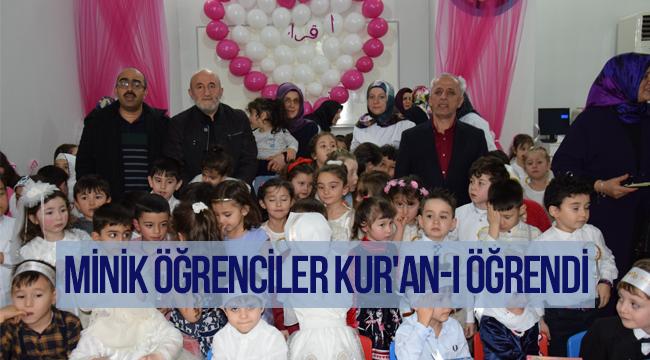 4-6 yaş grubu Kur'an kursunda dönem sonu programı