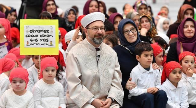 """Ankarada """"Cami Çocuk Buluşması"""""""