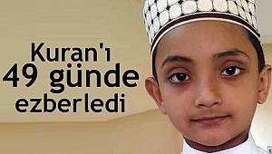 Bangladeşli 8 yaşındaki Mahmut, Kuran'ı 49 günde ezberledi