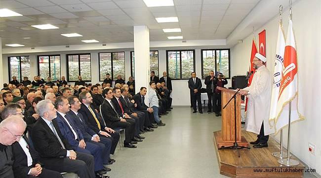 Başkan Erbaş, Strazburg'da vatandaşlarımızla buluştu
