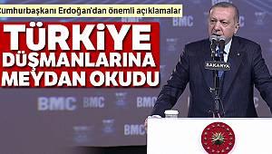 Cumhurbaşkanı Erdoğan'dan önemli mesajlar !
