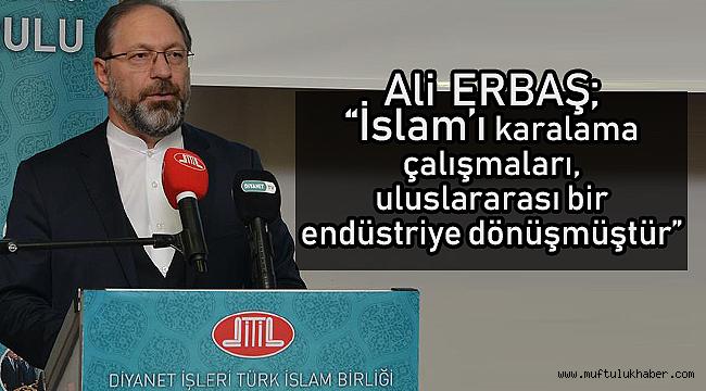ERBAŞ (DİTİB) in 17. Genel Kurulu'na katıldı