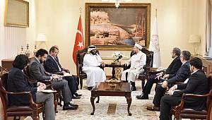 Erbaş, İİT İnsani Yardım Başkanı Al Sani'yi kabul etti