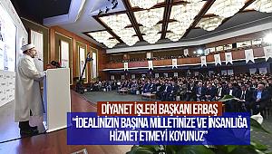 """Erbaş,""""Kültür ve Gençlik Politikaları Kurultayı""""nda konuştu"""