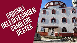 Erdemli Belediyesinden Camilere Destek