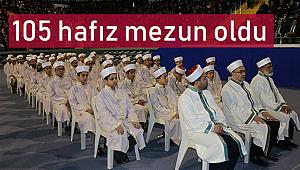 Malatya da 105 hafız mezun oldu