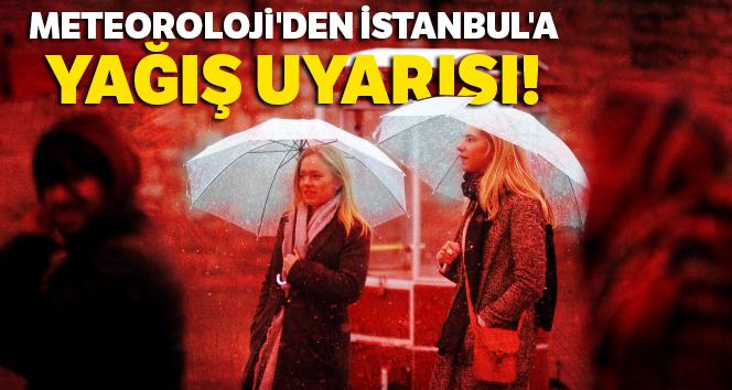 Meteoroloji'den İstanbul'a yağış uyarısı! |23 Ocak yurtta hava durumu