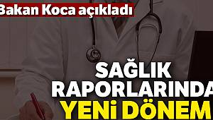 Sağlık Bakanı Koca: 'Raporların nüshaları e-nabız üzerinden temin edilecek'