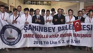 Şahinbey Belediyesi 164 lise öğrencisini Umreye gönderdi